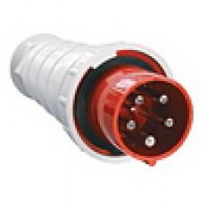 Вилка переносная 045 3Р+N+Е 125А 380В IP54 IEK (1)