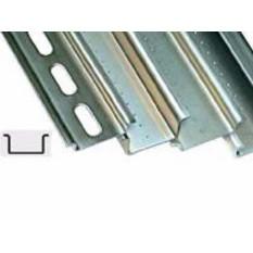 DIN-рейка перфорированная OMEGA 3F, 35х7,5х1мм, длина 2м ДКС 02140