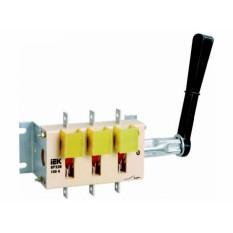 Вимикач-роз'єднувач перекидний ВР32И 250А на 2напрямки з'ємна рукоятка ІЕК