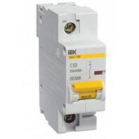 Автоматический выключатель ВА 47-100 1р 25А C IEK (1)