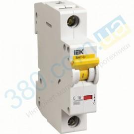 Автоматический выключатель ВА 47-29 1р 25А С IEK (144)