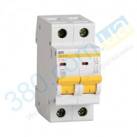 Автоматичний вимикач ВА 47-29 2р 25А С ІЕК