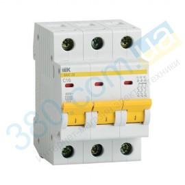 Автоматичний вимикач ВА 47-29 3р 16А С ІЕК