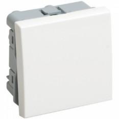 Вимикач прохідний (перемикач) одноклавішний на 2 модуля ВК4-21-00-П ІЕК